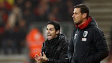 Arsenal held by Bournemouth in Arteta's first game as manager