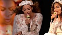 Beyonce Breaks Down On Stage While Singing Resentment