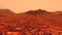 Underground volcanoes on Mars 'are warming a hidden lake under the ice'