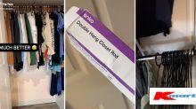 $6 Kmart buy doubles wardrobe space: 'Brilliant'