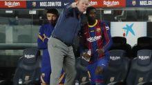 Foot - ESP - Barça - Barça: Ousmane Dembélé a rejoué après dix mois de convalescence