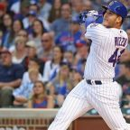 Watch: Anthony Rizzo hits leadoff home run after not disciplined for slide