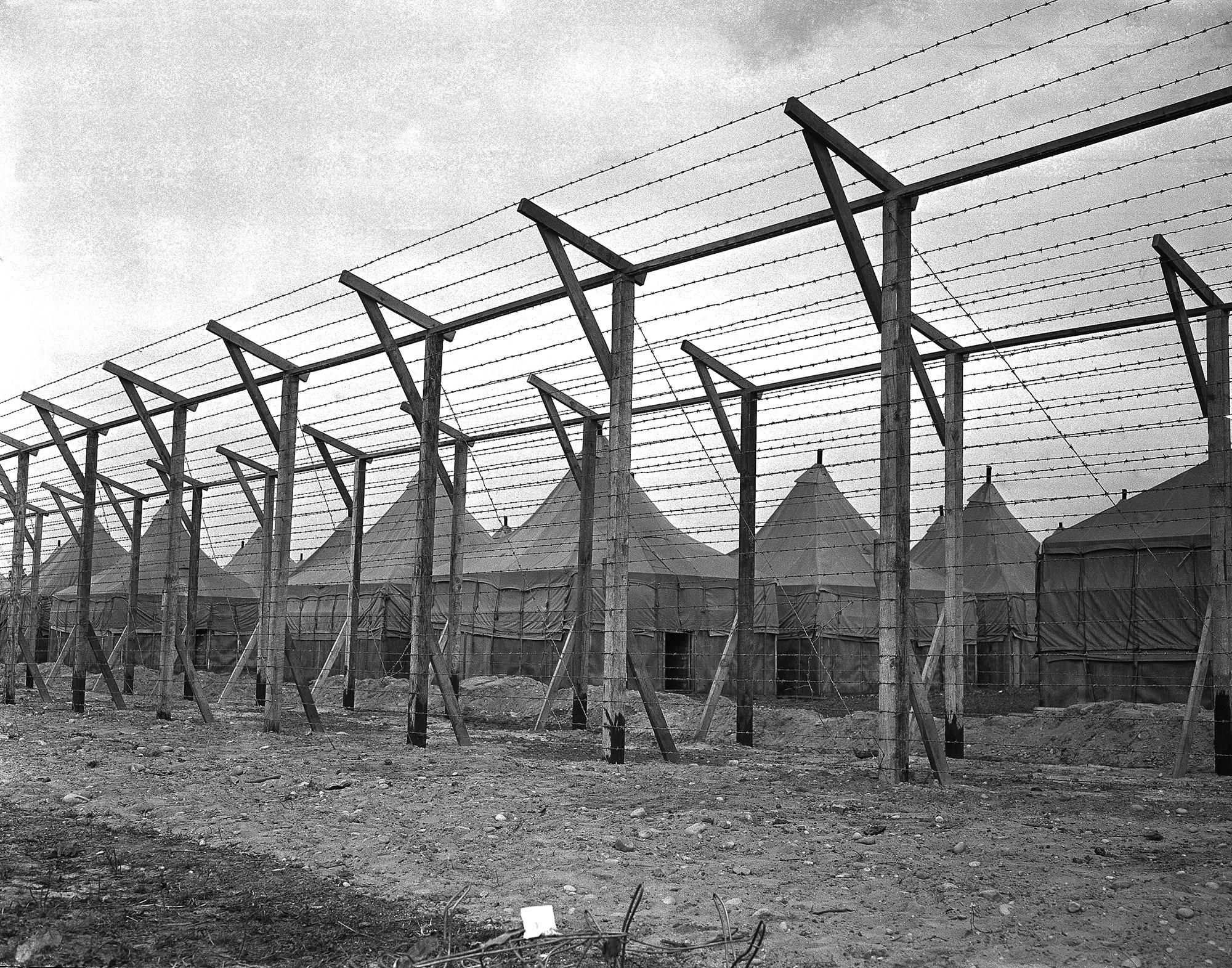<p>United States Defense Aliens Japanese Internment Camp Upton in New York, November 3, 1941. (AP Photo) </p>
