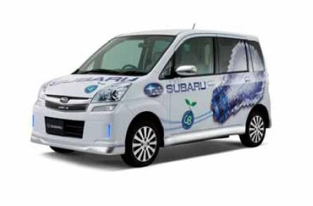 Subaru features STELLA electric car at G8 Hokkaido Toyako Summit