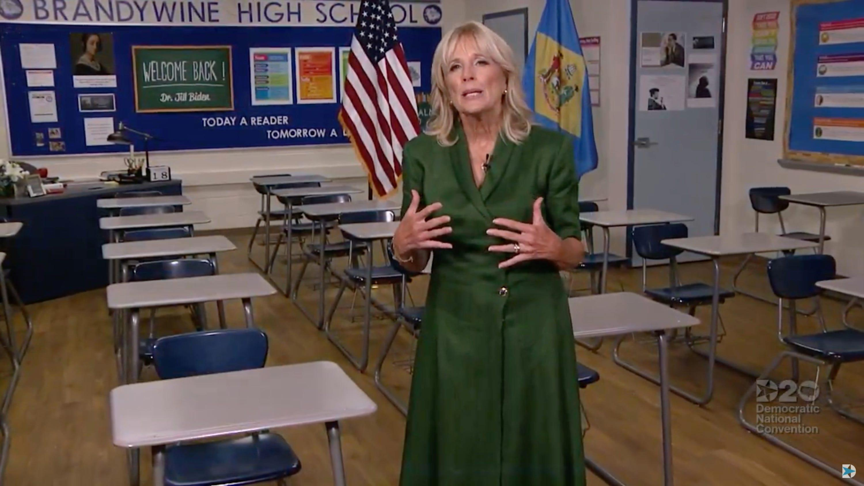 Fact check: Claim that Jill Biden will require Americans to learn Spanish began as satire