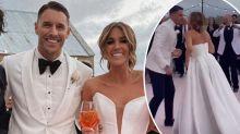 The Bachelorette's Georgia Love and Lee Elliott's stunning wedding