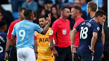 Dramatic VAR call overturns Jesus goal to deny City late win over Spurs