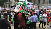 Thousands Head to Downing Street for Gaza Protest