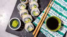 Making A California Roll At Home Couldn't Be Easier!