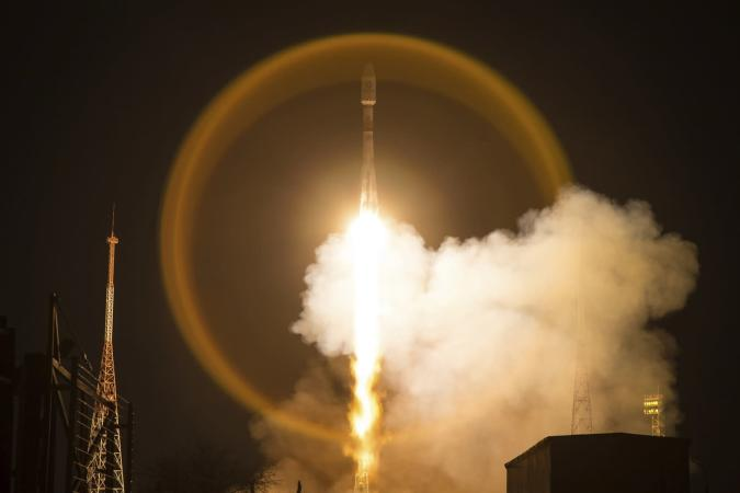 Roscosmos Space Agency Press Service via AP