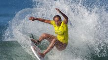 Surf's up again for Slater, Olympic qualifiers at Surf Ranch