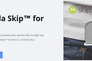 Motorola to release $20 Skip, an NFC accessory that unlocks Moto X with a tap