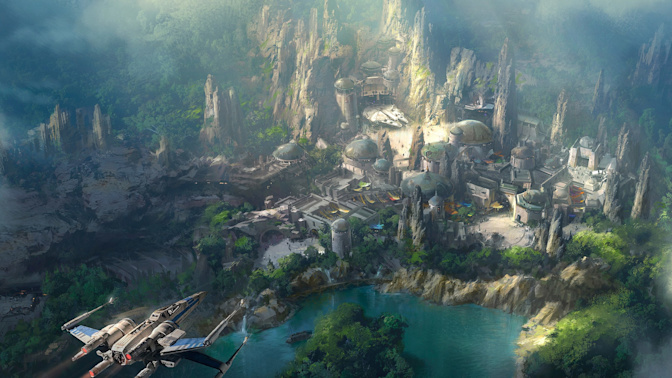 The world's first official Star Wars-themed hotel to open at Walt Disney World Orlando