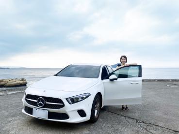 【名人聊愛車】就是愛賓士!職場作家艾薇。蕭首選Mercedes Benz A180「都會小白馬」