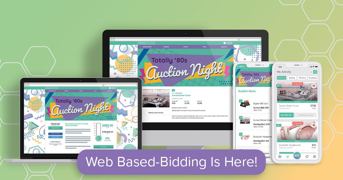 Qgiv's Auction Platform Expands to Include Web-Based Bidding