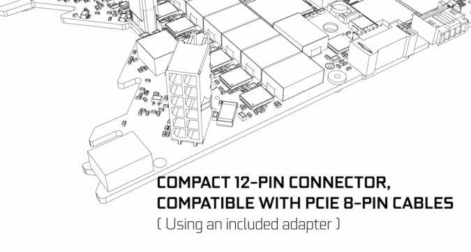 NVIDIA 12-pin PCIe connectors