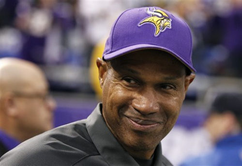 Frazier's deal with Vikings thru 2014