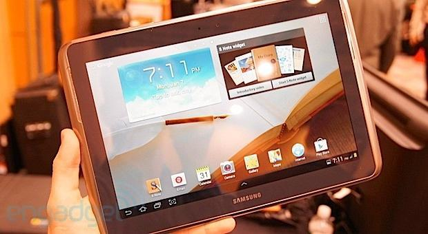 Samsung Galaxy Note 10.1 available on Verizon March 7th for $600