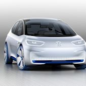 Volkswagen's I.D. concept can drive itself and receive packages when you're away