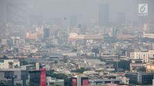 Minggu Pagi, Kualitas Udara Jakarta Tercatat Tidak Sehat