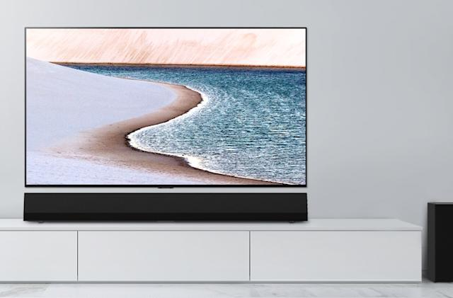 LG's $1,000 sound bar is made to match the new GX series OLEDs
