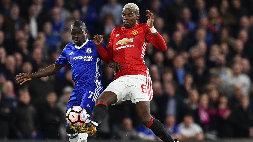 Manchester United, Pogba estime ne pas être traité de la même manière que Kanté