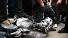 Statue torn down in Bristol