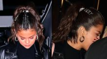 Selena Gomez Bedazzles 'Ugly' On Her Hair And We Think We Know Why