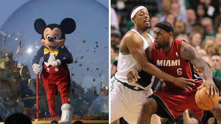 The Rush: NBA might play at Disney World while Paul Pierce finds out the truth hurts