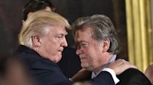 Trump says Steve Bannon is 'not a racist'