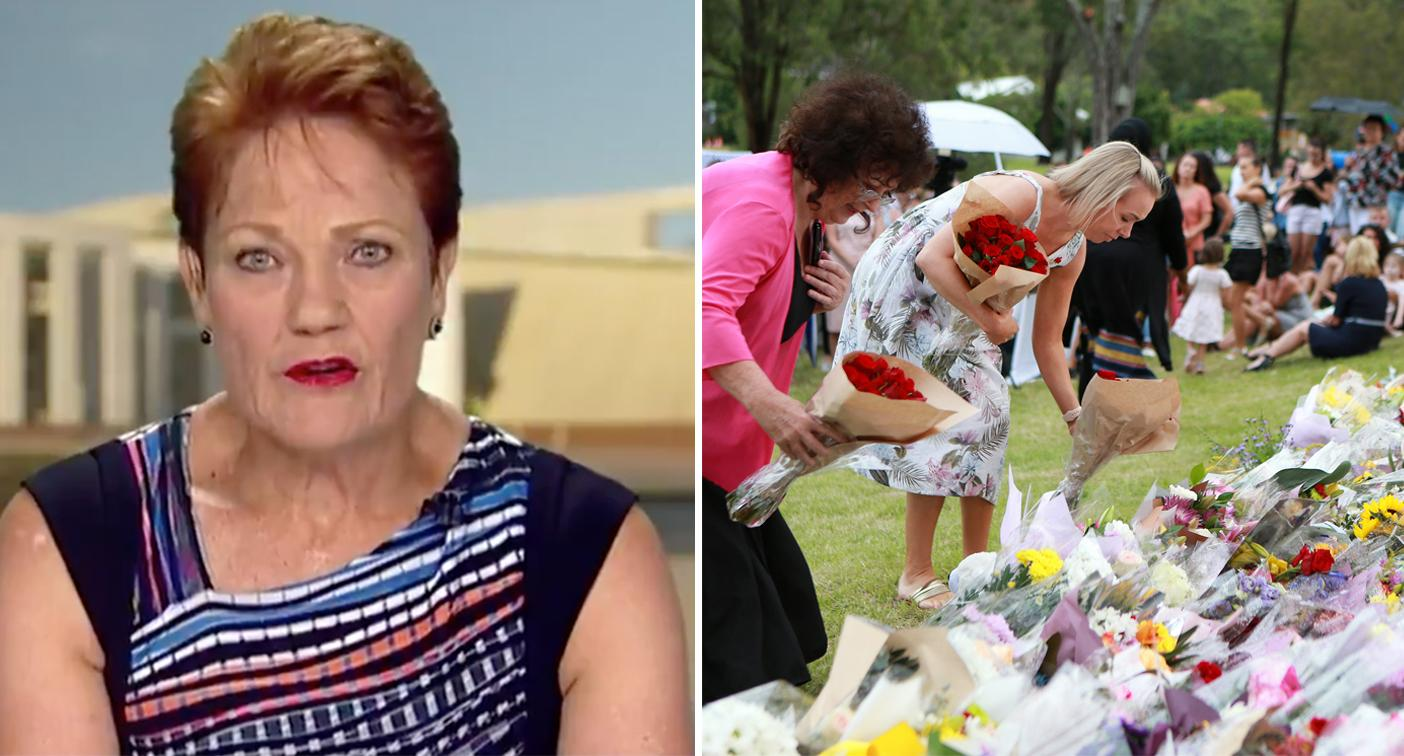 'Don't bastardise all men': Pauline Hanson slams domestic violence double standard on Today