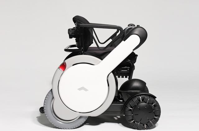 Whill's all-terrain wheelchair is built for rough surfaces