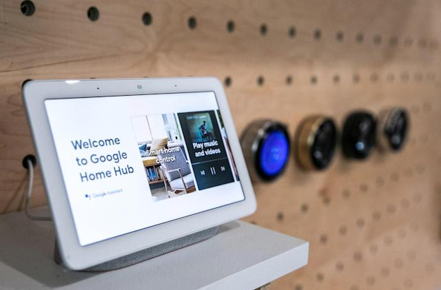 Google refutes reported Home Hub security flaw