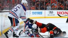 Penalty kill, 'fluky goal' ends Ducks regulation win streak