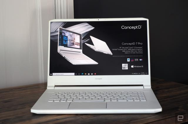 Acer updates its ConceptD 7 laptops and adds a new desktop model