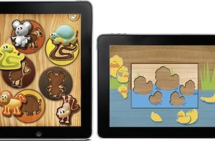 Toddler wooden puzzle roundup for the iPad