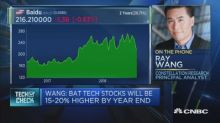 China's markets have stumbled, but its top tech stocks could rise 20% this year, analyst says
