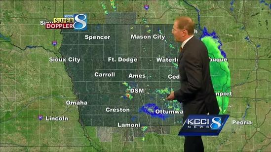 KCCI AM weather forecast
