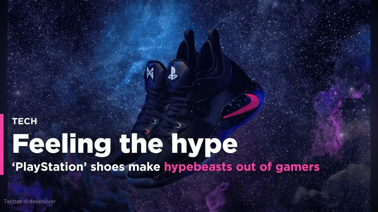 63c3e0dc473 Nike's 'PlayStation' shoes make hypebeasts out of gamers
