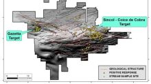 Meridian Mining Announces Evaluation of Bedrock Potential at Coice de Cobra Gold Target in Rondônia Brazil