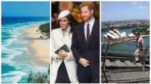 This is where you can see Harry and Meghan in Australia