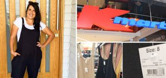 $28 linen overalls from Kmart a huge hit online