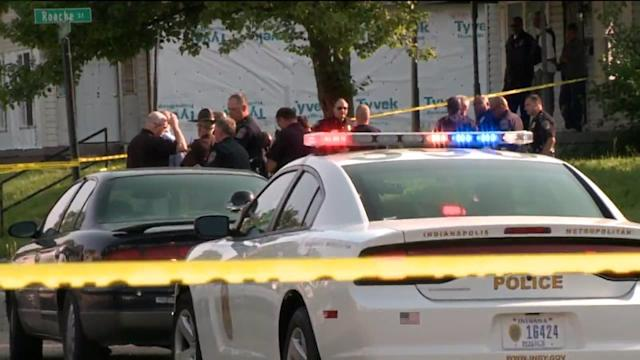 Three Killed, Police Officer Shot in Indianapolis
