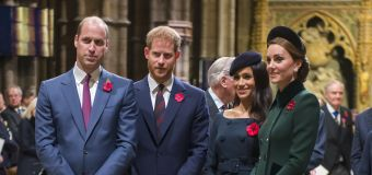 Report: Brothers speak as royals prepare for funeral