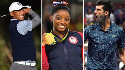Woods, Djokovic, Biles: Complete List of Winners From Laureus 2019