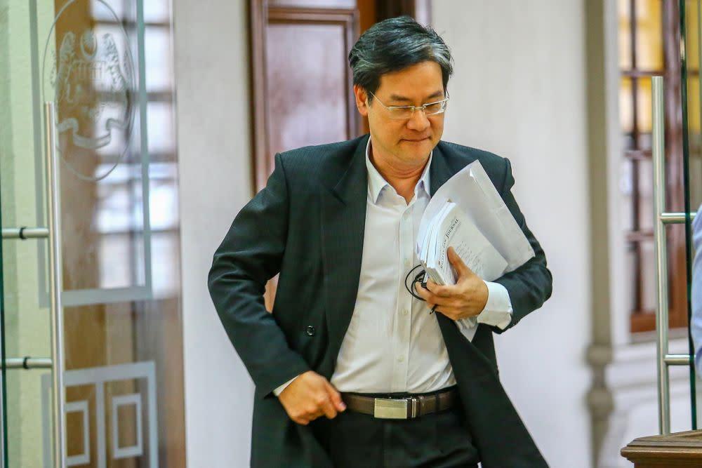 Image result for wong nai chee najib