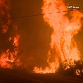 Fast-Moving LA-Area Fire Burns More Than 33,000 Acres