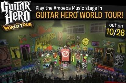 Amoeba Music in Guitar Hero: World Tour and vice versa