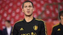 Foot - L. Nations - BEL - Ligue des nations : Eden Hazard (Belgique) sur le banc au Danemark