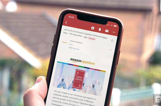 Google embraces the notch with iPhone X Gmail update